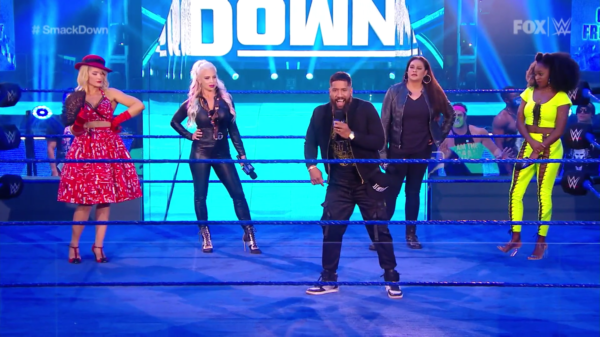 WWE Smackdown women's roster has no depth