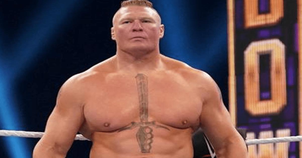 huge Brock Lesnar angle