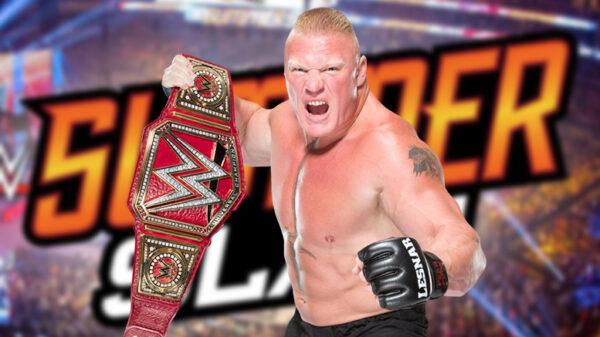 Brock Lesnar's return date is not set for Summerslam
