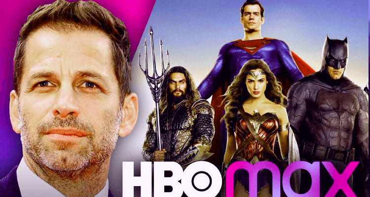 Zack Snyder Justice League on HBO Max