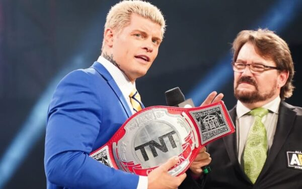 Cody Rhodes already had an impressive title reign