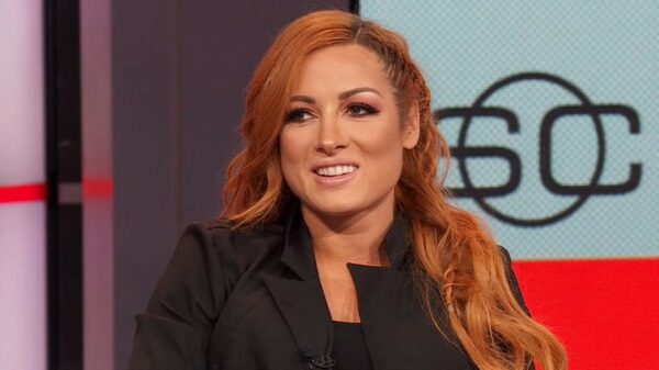 Becky Lynch talks about the negative pregnancy test turning into a positive one.