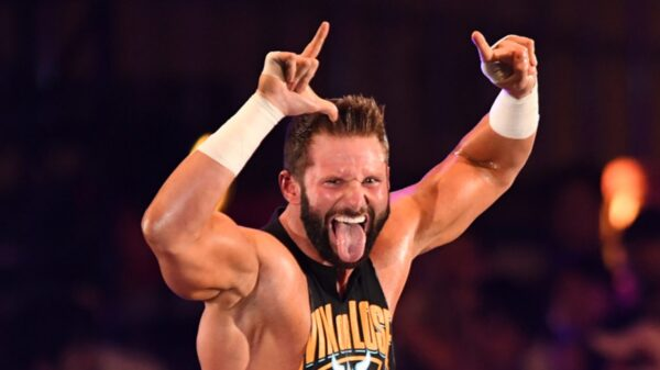 Zack Ryder made his AEW debut yesterday