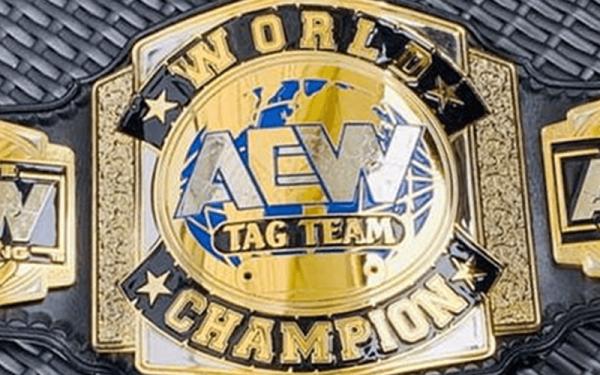 AEW Wrestling belt