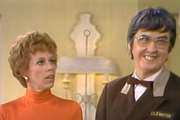 Carol Burnett elevator man