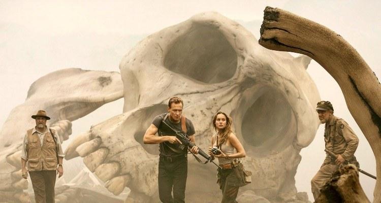 Kong bones on Skull Island