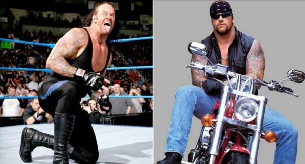 Undertaker switched lightning for a motorcycle