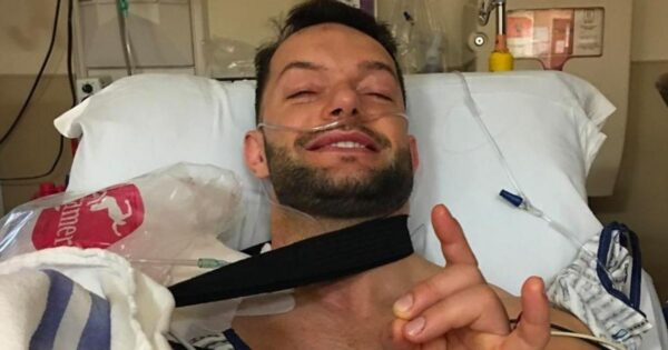 Finn Balor vacated the title due to shoulder injury