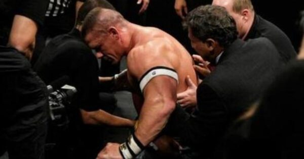 John Cena vacated the title due to injury