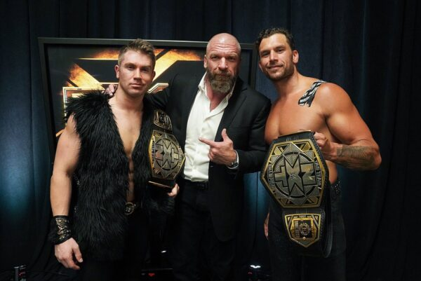 Triple H continues as the NXT boss
