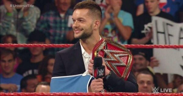 Finn Balor had to drop the title after a similar injury
