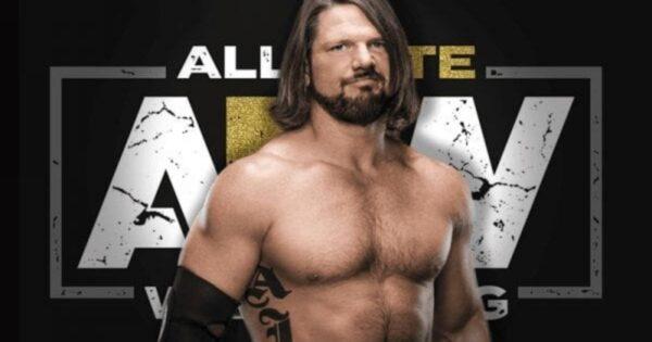 AJ styles AEW Debut