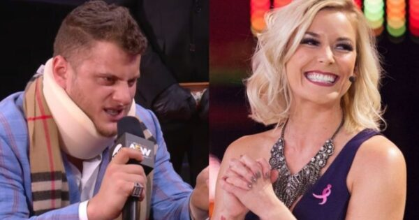 Moxley's wife Renee Young trolls MJF after All Out