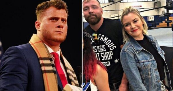 Renee Young, Jon Moxley, and Friedman
