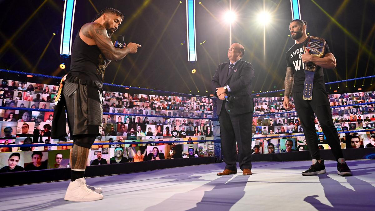 wwe live event chaos