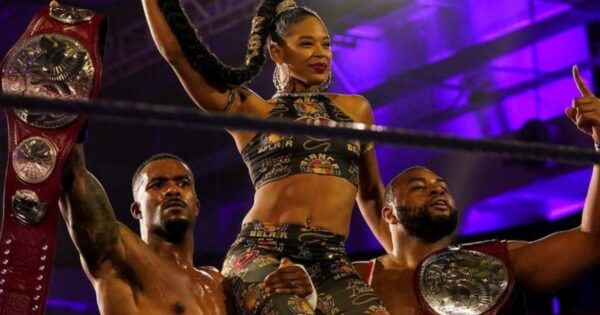 The WWE Street Profits have a very different background in professional wrestling