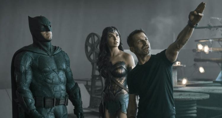 Zack Snyder Batman and Wonder Woman