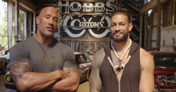 The Rock could face Roman Reigns at WrestleMania