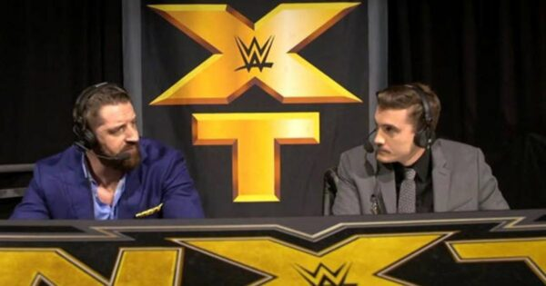 Wade Barrett as NXT commentator