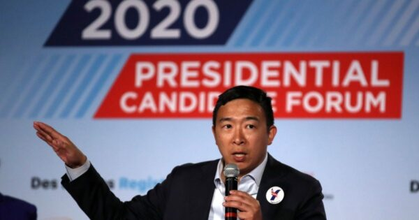 Andrew Yang continues to take on the WWE