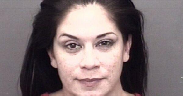 Sarah Stock's arrest