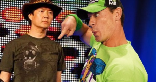 Ken Jeong was influenced by John Cena, Bobby Heenan, and Kurt Angle