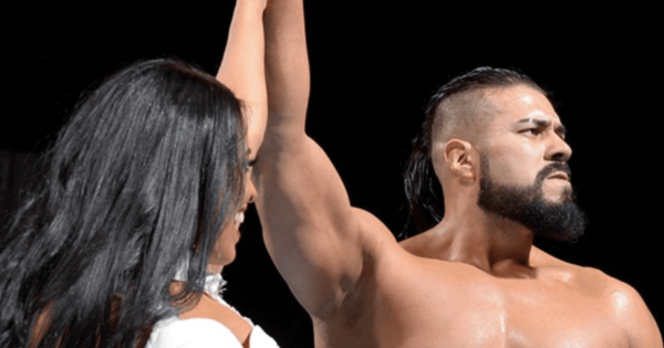 Andrade is still a free agent
