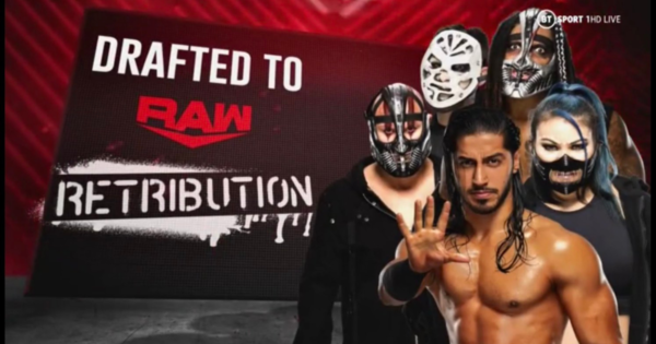 Retribution drafted to Raw