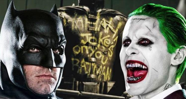 Jared Leto for Joker in Ben Affleck's Batman