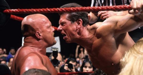 Vince McMahon and Stone Cold Steve Austin