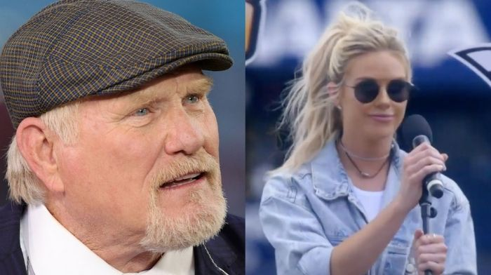 Terry Bradshaw Helps Daughter Sing For First Time Since Her Husband Died - Watch Her 'God Bless America' NASCAR Performance