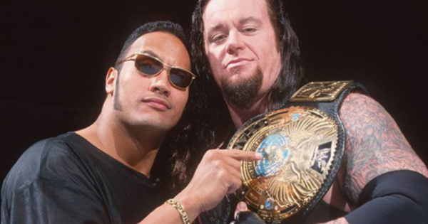 The Rock and The Undertaker