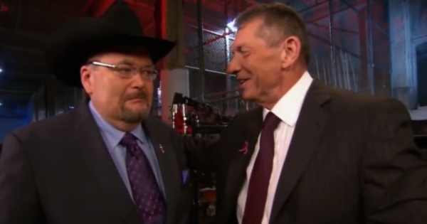Jim Ross had contract issues back in the 2000s