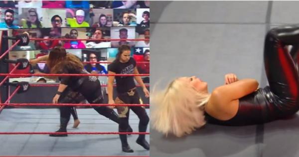 Mandy Rose injured on Raw