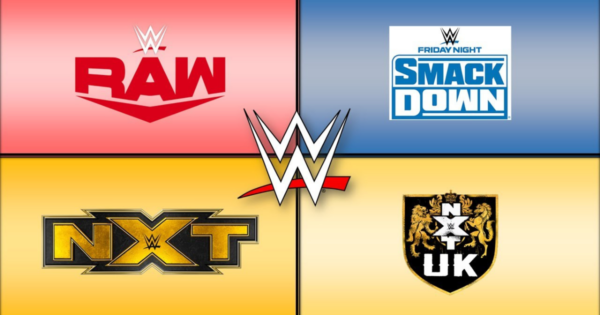 NXT, Raw, SmackDown, NXT UK