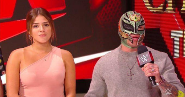 Aalyah and Rey Mysterio