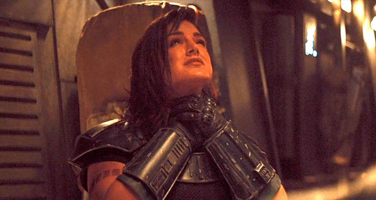 The Mandalorian Star Gina Carano