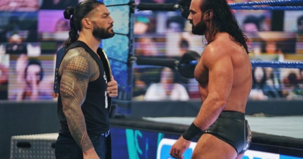Is Roman Reigns versus Drew McIntyre the better choice?