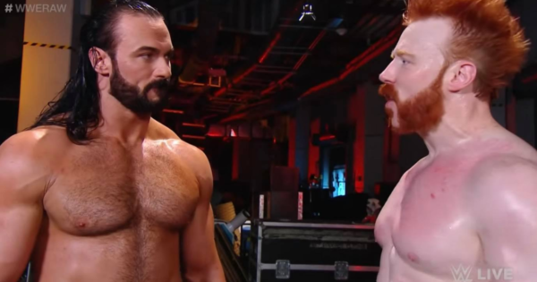 Sheamus and Drew McIntyre