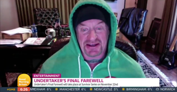 Taker appeared on Good Morning Britain