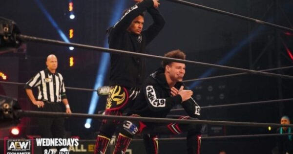 Top Flight Signed By AEW