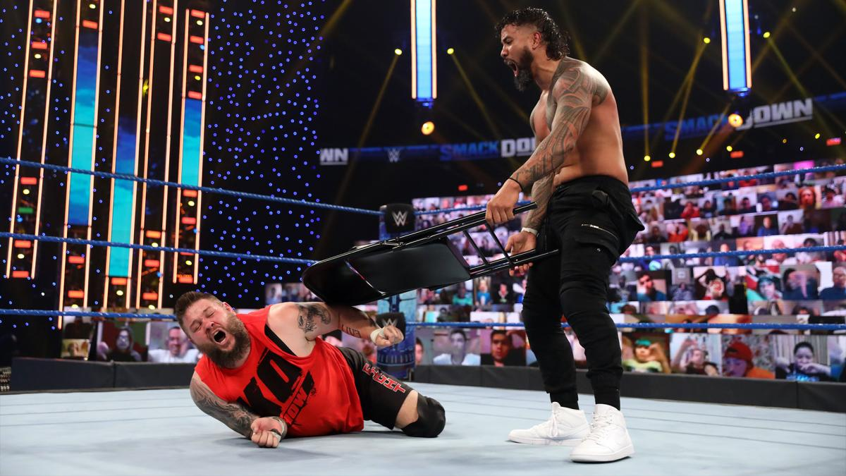 on top smackdown feud