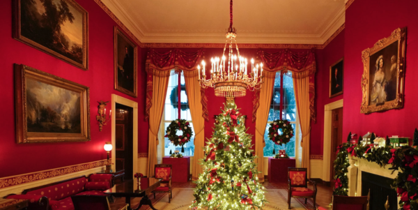 Red Room White House Christmas 2020