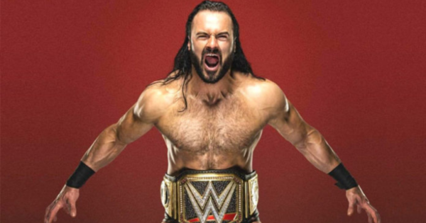 Drew McIntyre is first runner-up
