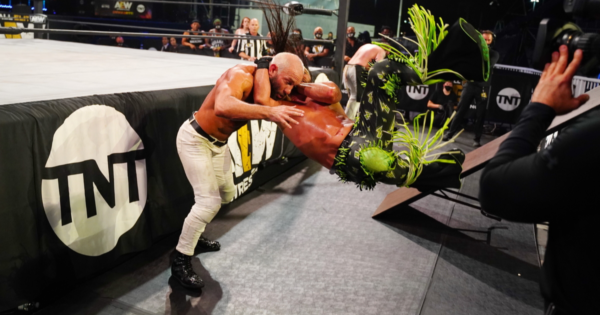 AEW officials shouted at wrestlers backstage