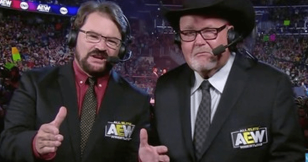 Risk wrestler dive leads to yelling from AEW officials