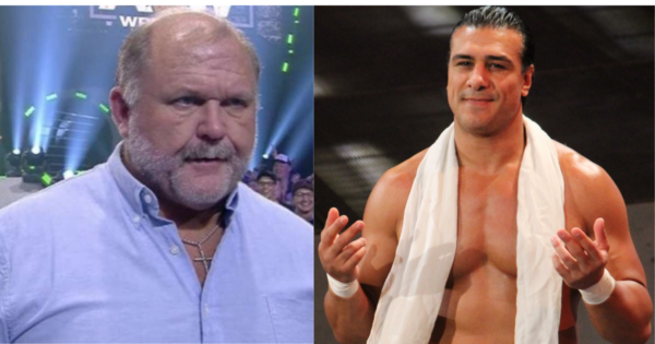 Arn Anderson talks about backstage slap incident involving alberto del rio