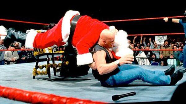 WWE Santa Claus Moments