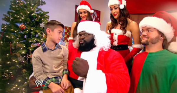 WWE Santa Claus moments history
