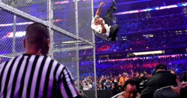 Hell In A Cell Jump